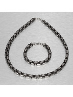 Paris Jewelry Collier Bracelet and Necklace argent