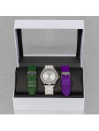 Paris Jewelry horloge Set wit
