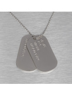 Paris Jewelry Necklace Blank silver colored