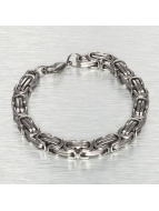 Paris Jewelry Stainless Steel 21cm Bracelet Silvern