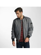 Paris Premium Medan Bomber Jacket Dark Grey