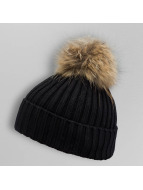 Paris Premium hoed Pom Pom zwart