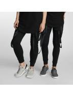 Paris Premium Jogginghose Cords schwarz