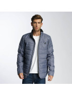 Paris Premium Fluffy Jacket Blue