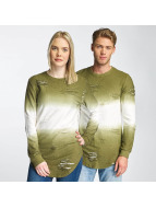 Paris Premium Two Tone Sweatshirt Green
