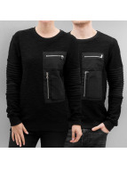 Paris Premium Pocket Sweatshirt Black