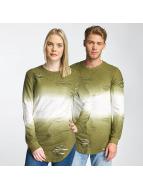 Paris Premium Pullover Two Tone vert