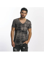 Paris Premium T-Shirt Streak brown