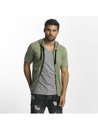 Paris Premium T-Shirt Zip khaki