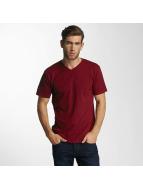 Paris Premium Basic T-Shirt Bordeaux