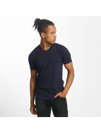 Paris Premium T-shirts Basic blå
