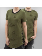 Paris Premium T-shirts Stockton oliven