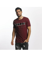 Paris Premium Relax T-Shirt Burgundy