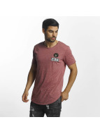 Paris Premium Skull T-Shirt Burgundy