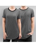 Paris Premium T-skjorter Knit grå