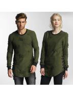 Paris Premium Trøjer Destroyed grøn