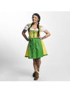 Paris Premium Funny Dirndl Yellow