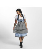 Paris Premium Traditional Dirndl Blue