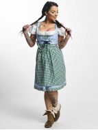 Paris Premium Traditional II Dirndl Blue