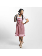 Paris Premium Traditional Dirndl Pink