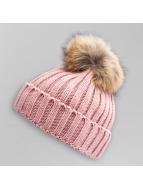 Paris Premium Wintermütze Pom Pom rosa