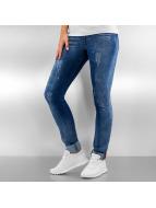Pascucci Облегающие джинсы B-Jogg синий