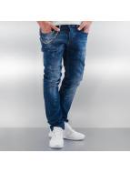 Pascucci Jeans Straight Fit Svina bleu