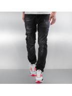 Pascucci Jeans straight fit Ferre nero