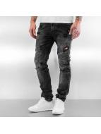 Pascucci Skinny jeans Diemo zwart