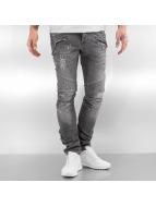 Pascucci Slim Fit Jeans Eik grijs