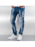 Pascucci Straight Fit Jeans Ymsi blå