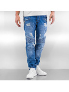 Pascucci Straight Fit Jeans Bardo blå