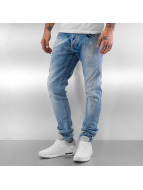 Pascucci Straight fit jeans Amir blauw