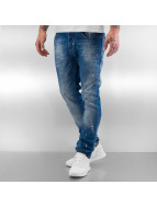 Pascucci Straight fit jeans Morris blauw