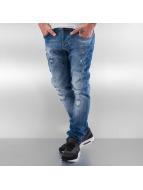 Pascucci Straight fit jeans Ori blauw