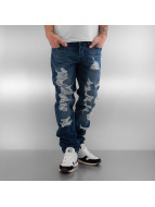 Pascucci Straight fit jeans Monk blauw