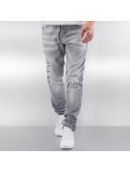Pascucci Straight fit jeans Tony grijs