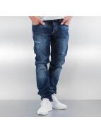 Pascucci Straight Fit Jeans Arma mavi