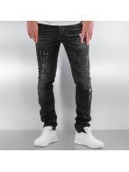 Pascucci Straight Fit Jeans Ascan schwarz
