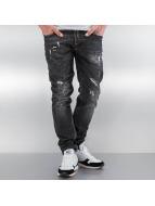 Pascucci Straight Fit Jeans Purs schwarz