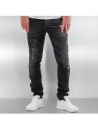 Pascucci Straight Fit Jeans Ascan svart