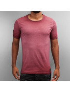 Pascucci T-Shirt Dyed rouge