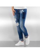 Pascucci Tynne bukser B-Body blå