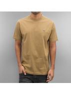 Pelle Pelle Camiseta Core Icon Plate marrón