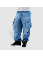 Pelle Pelle Cargo pants Denim blue