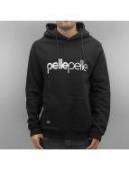 Pelle Pelle Hoodie Back 2 Basics svart