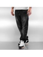 Pelle Pelle Jeans larghi Baxter nero