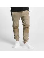 Pelle Pelle Jogging pantolonları Crossover bej