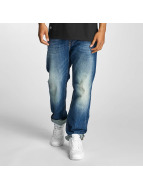 Pelle Pelle Loose fit jeans Baxter Denim blauw