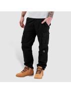 Pelle Pelle Pantalon cargo Basic Re Up Twill noir